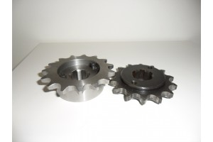 Custom made offset sprocket